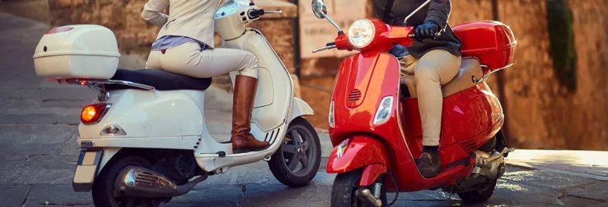 Concessionnaire de scooters